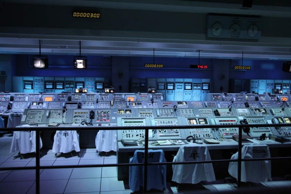 Kennedy Space Center Old Control Room